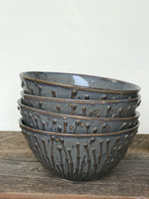 Load image into Gallery viewer, SLATE MEDIUM EVERYDAY BOWL WITH PUSSY WILLOWS