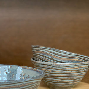 SLATE MEDIUM EVERYDAY BOWL IN WAVE