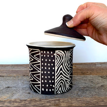 Load image into Gallery viewer, AFRICA MODERN MUD CLOTH CANNISTER