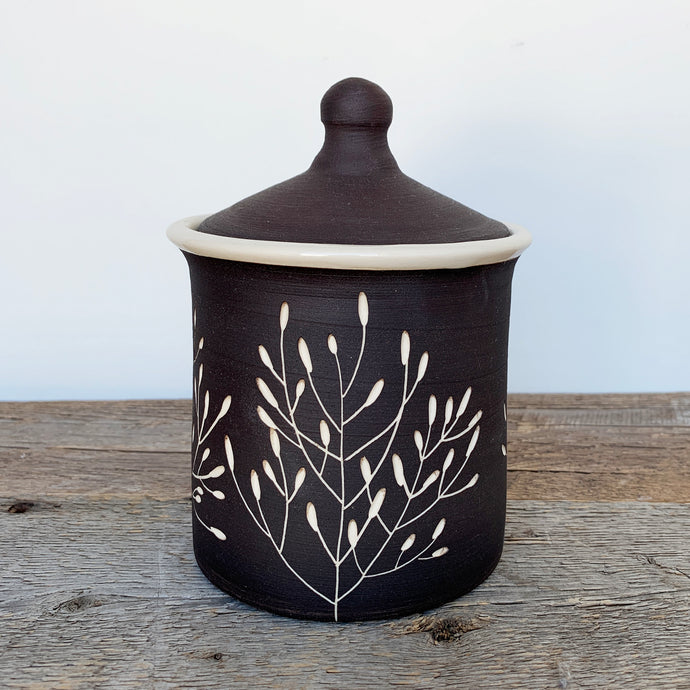 BOTANICAL SILHOUETTES CANISTER
