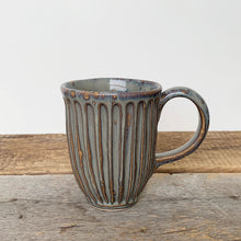 Load image into Gallery viewer, SLATE MUG WITH STRIPES - 15 OUNCES