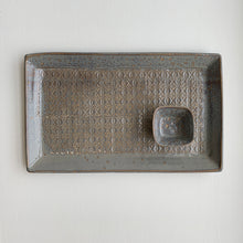 Load image into Gallery viewer, SLATE EXTRA LARGE RECTANGLE PLATTER SET IN BAROQUE