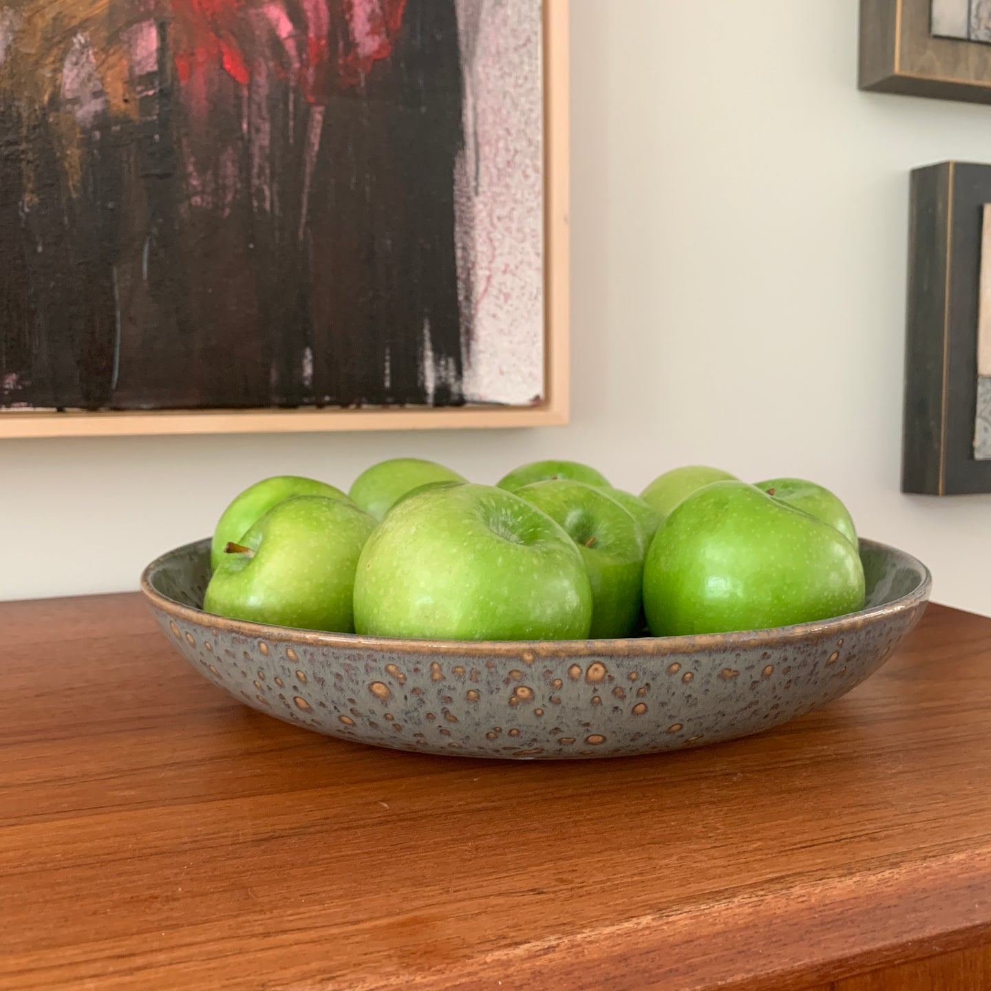 SLATE COUPE SERVING BOWL