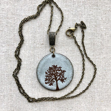 Load image into Gallery viewer, TREE OF LIFE NECKLACE IN WHITE