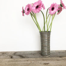 Load image into Gallery viewer, SLATE TINA VASE IN WAVE