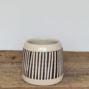 AFRICA MODERN BUD VASE IN STRIPES