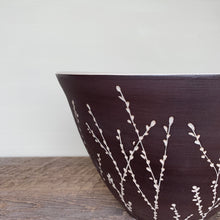 Load image into Gallery viewer, BOTANICAL TALL SERVING BOWL