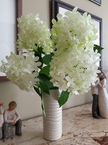 IVORY TINA VASE IN WAVE