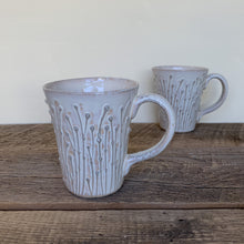 Load image into Gallery viewer, OATMEAL MUG WITH PUSSY WILLOWS - 16 OUNCES