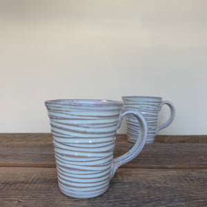 OATMEAL MUG IN WAVE - 16 OUNCES