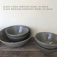 Load image into Gallery viewer, OATMEAL LINDA BOWL WITH WAVES