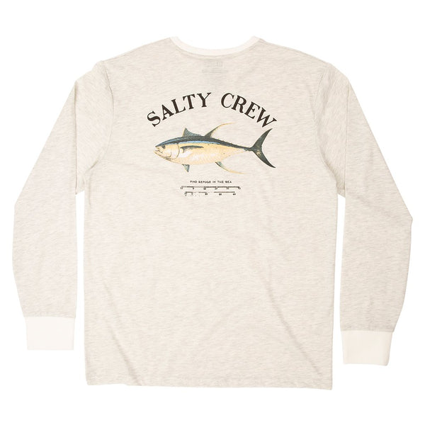 Sweat-shirt protection UV Salty Crew Ahi Mount Tech LS tee white