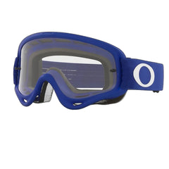 Masque Oakley O Frame Mx Moto Blue W/ Clear Bleu