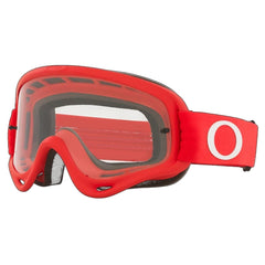 Masque Oakley O Frame Mx Moto Red W/ Clear Rouge
