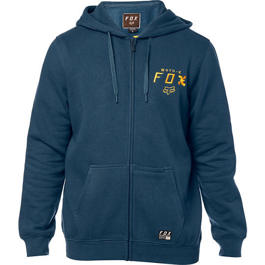 Sweat-shirt Fox Racing Darkside Zip Fleece Bleu