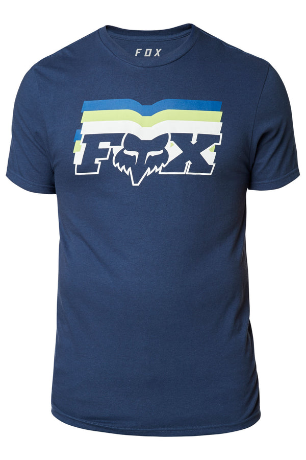 Tee-Shirt Fox Racing Far Out Bleu