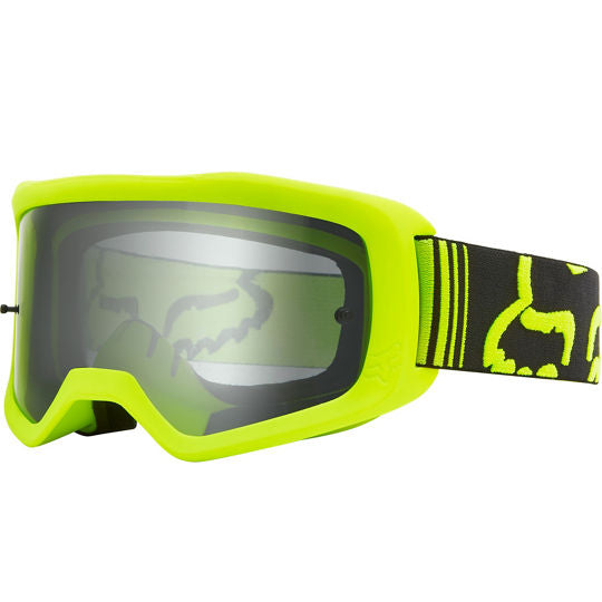 Masque Fox Racing Main race jaune fluo