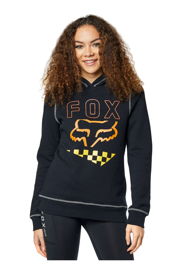 Sweat-shirt Fox Richter Pullover Fleece Femme Noir