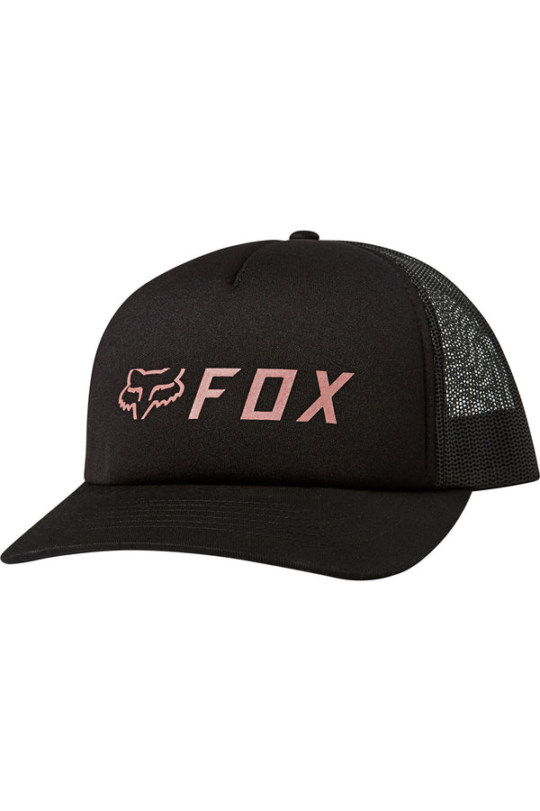 Casquette Fox Racing Apex Trucker Noir Rose