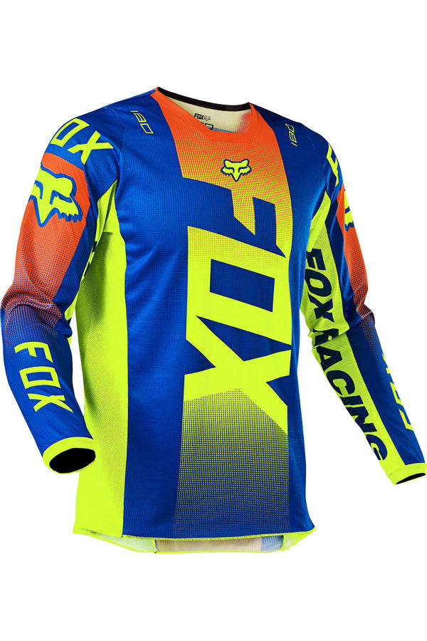 Mailloy Cross Fox Racing 180 Oktiv Blue Yellow Orange