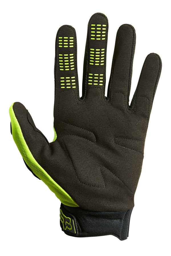 Gants Cross Fox Racing Dirtpaw Jaune Fluo