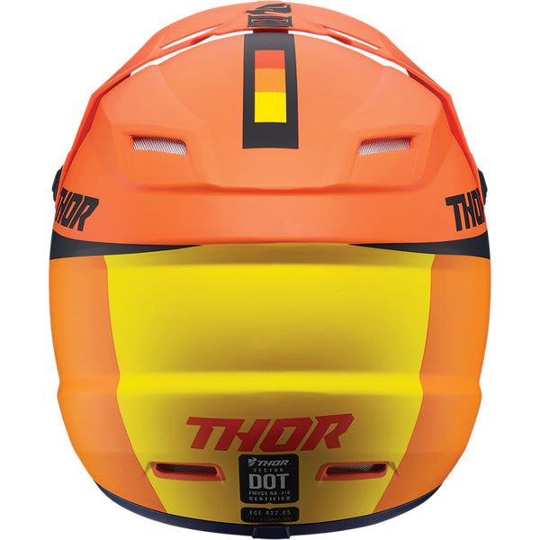 Casque Enfant Thor Youth Sector Racer Orange/Midnight Helmet