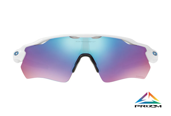 Lunette Oakley Radar EV Path Polished White Prizm Sapphire Iridium