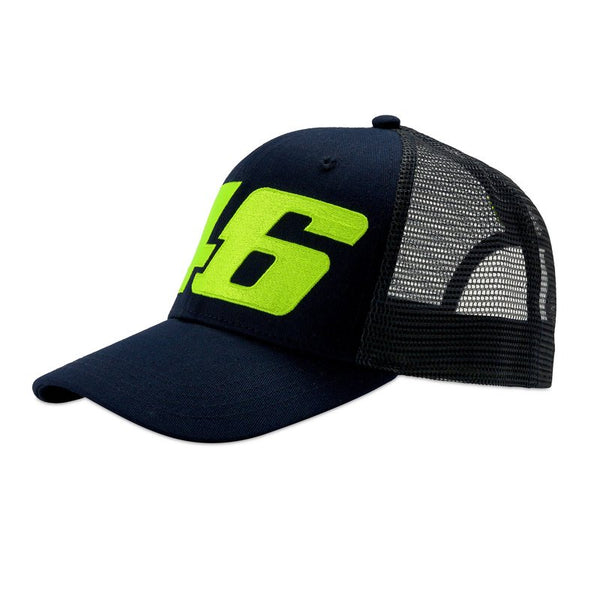 Casquette Vr46 Core Large Trucker Cap Blue