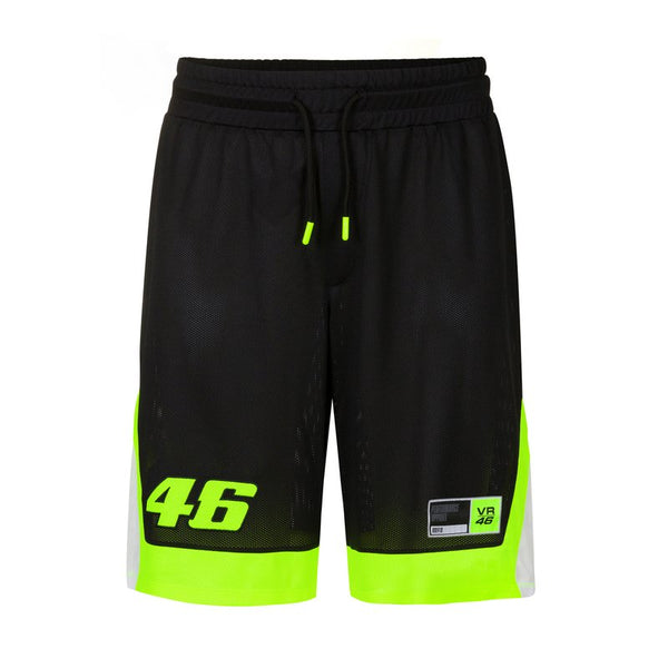 Short Vr46 Basketball Core Noir