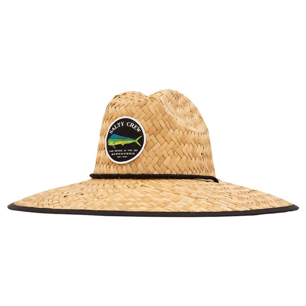 Chapeau protection solaire Salty Crew Mahi Cover Up Straw Hat Single black