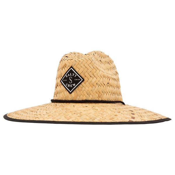Chapeau protection solaire Salty Crew Tippet Coverup Strawhat Single Black