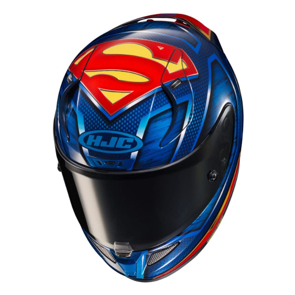CASQUE HJC RPHA 11 SUPERMAN DC COMICS MC21 BLEU