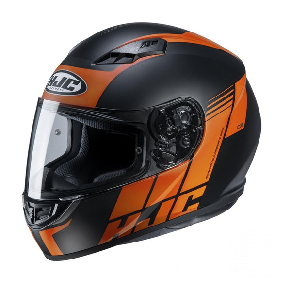 Casque Hjc Cs-15 Mylo Mc7sf Noir Orange