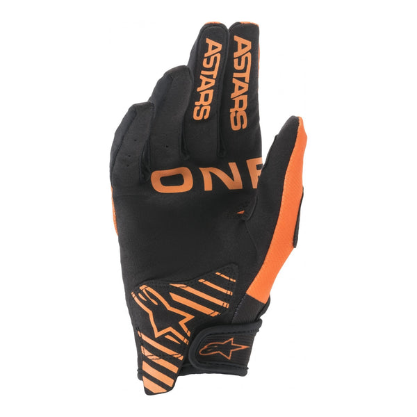 Gants Cross Alpinestars Radar Orange/Noir