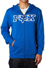 Sweat-shirt Fox Racing Legacy Fheadx Zip Fleece Bleu
