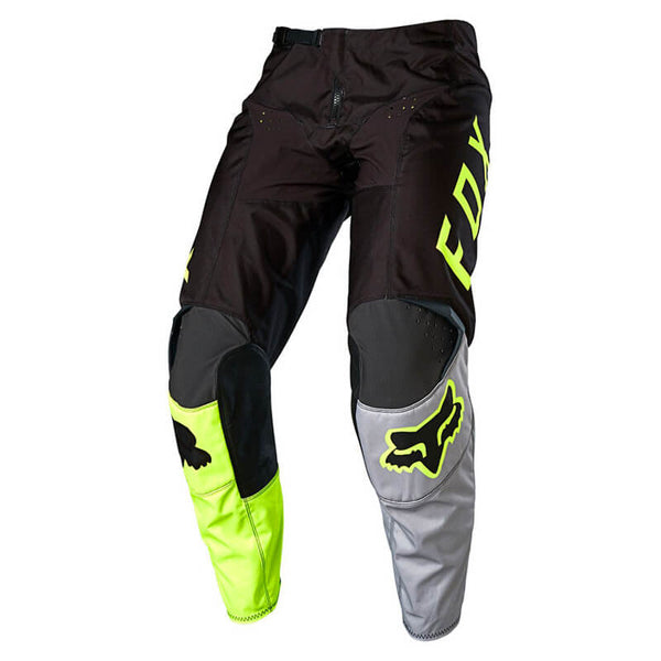 Pantalon Cross Fox  180 Lovl Pant Jaune Fluo