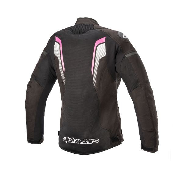 Blouson Alpinestars Stella Gp Plus R V3 Leather Jacket Black White Fuchsia