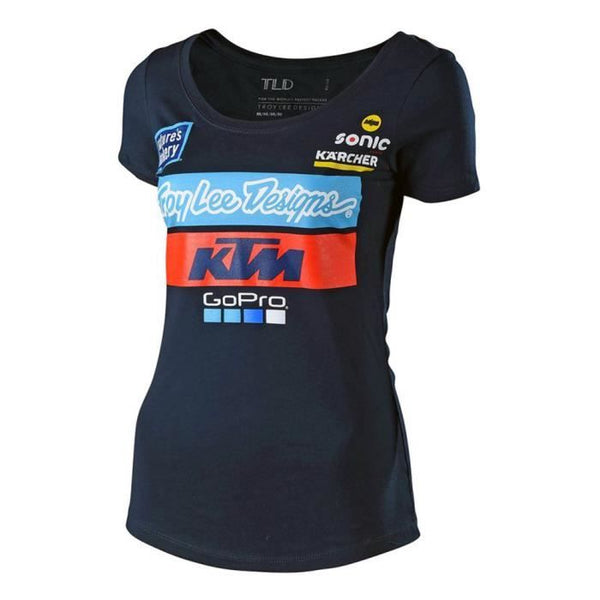 Tee - Shirt Troy Lee Designs Ktm Femme