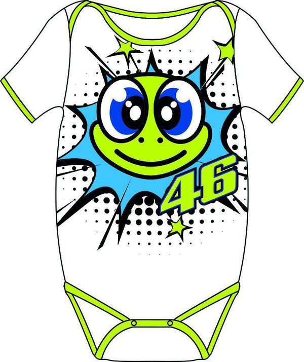 Baby Body vr46 Pop Art bébé