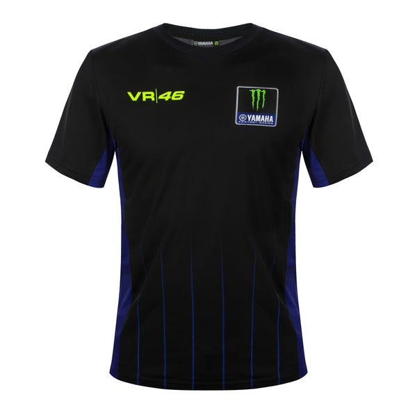 Tee-Shirt vr46 Yamaha Black