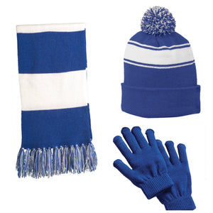 Veritas Winter Bundle (Scarf, Smart Gloves, Pom Hat)