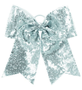 Knights Sequin Cheer Hair Bow