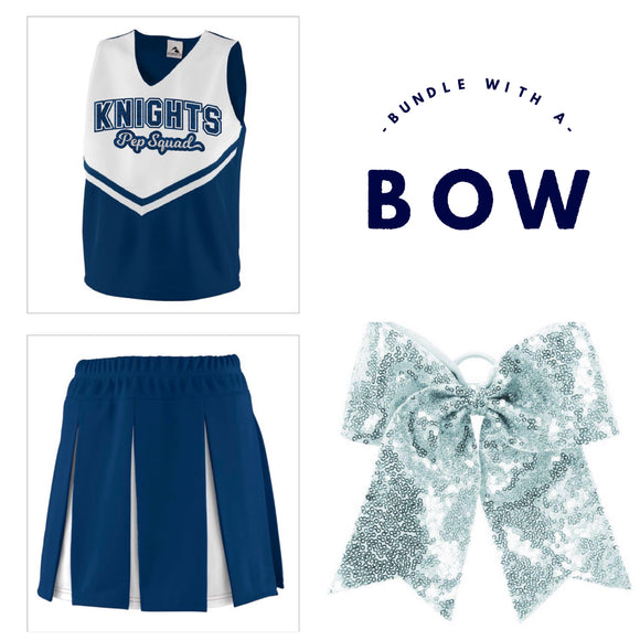 Knights Pep Squad Bow Bundle