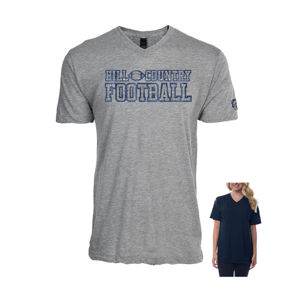 Team Shirts, Football Glitter T-shirt