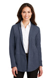 Ladies Interlock Cardigan (Embroidered Logo)