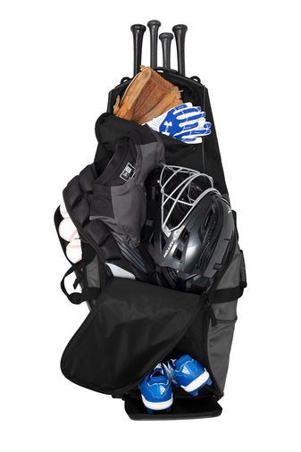 New Era Shutout Wheeled Bat Bag