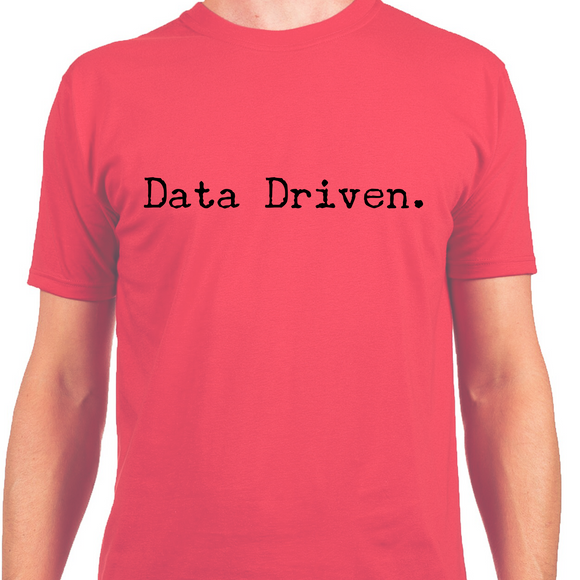 Men's Short Sleeve Shirt, Data Driven (S-XL) - Ah Ha!