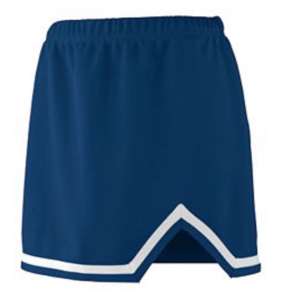 Navy Cheer Skirt (XXS-2XL)