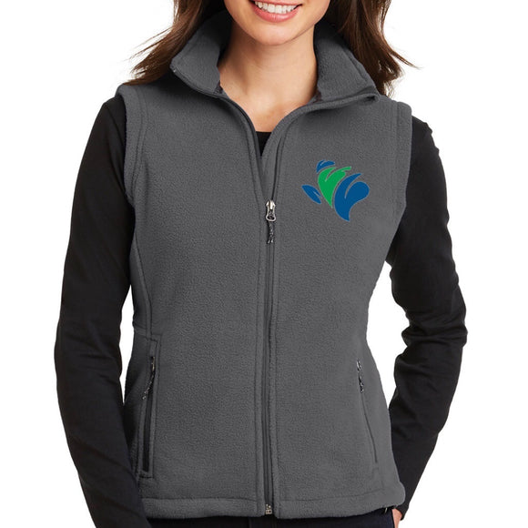 Vest, Ladies Fleece, TRAPS Embroidered Logo (XS-4XL)