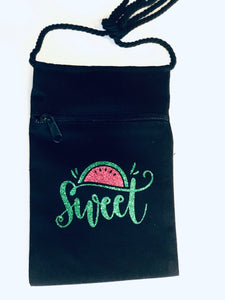 Sweet Watermelon Crossbody Purse